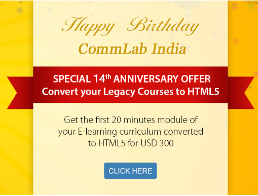 Convert an E-learning Module into HTML5 for just 300 USD!