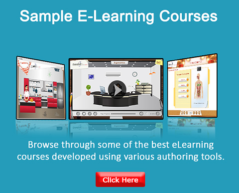 Custom and Rapid E-learning Samples
