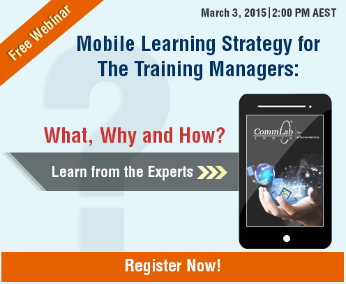 Mobile Learning Strategy for Training Managers: What, Why and How? - Free Webinar