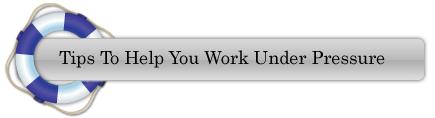 View presentation on working under pressure