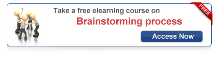 View the free course on Brainstorming