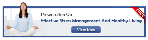 View presentation on stress management