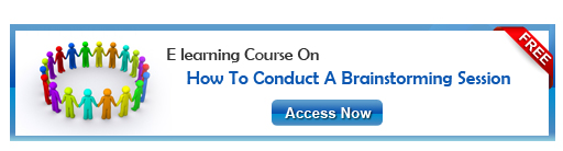 View eLearning course on How to Conduct a Brainstorming Session