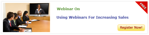 View Webinar On Using Webinars for Increasing Sales