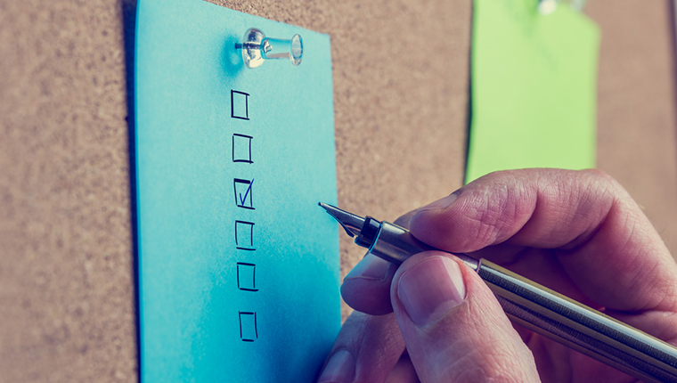 A Checklist for Instructional Design