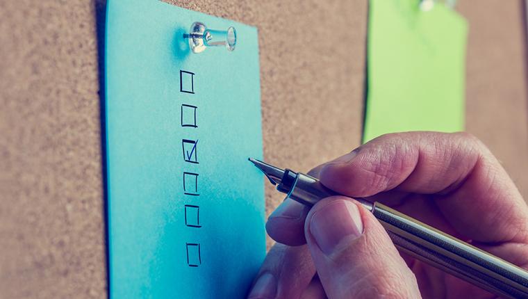 A Checklist for Instructional Design