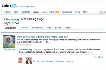eLearning edge group in Linkedin