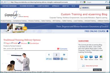 Custom Training and eLearning Blog