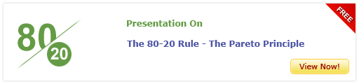 View Presentation On The 80-20 Rule – The Pareto Principle