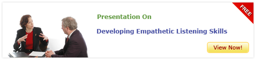 View Presentation On Developing Empathetic Listening Skills