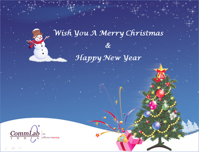 Wish You A Merry Christmas from CommLab India