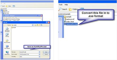 .bat file convertion into .exe file