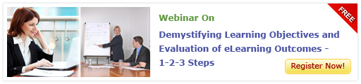 Demystifying Learning Objectives and Evaluation of eLearning Outcomes - 1-2-3 Steps