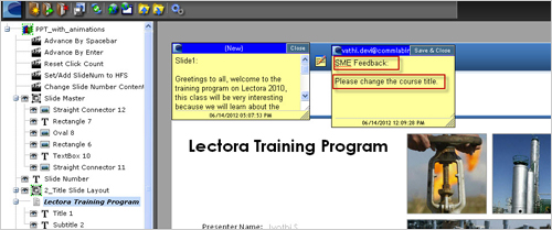 Client Feedback Made Easy With Lectora Online Tool