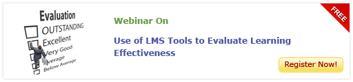 View Webinar On Use of LMS Tools to Evaluate Learning Effectiveness