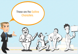 E-Learning Characters & Their Role