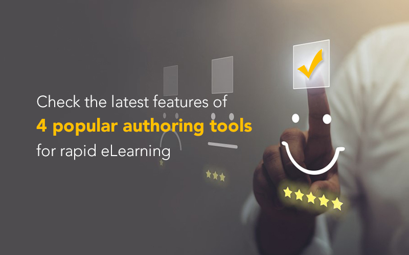 Authoring Tools for Rapid eLearning – A Review of 4 Popular Tools