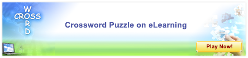 Crossword in eLearning