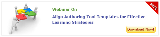 Free Webinar on Aligning Authoring tool templates for effective learning strategies