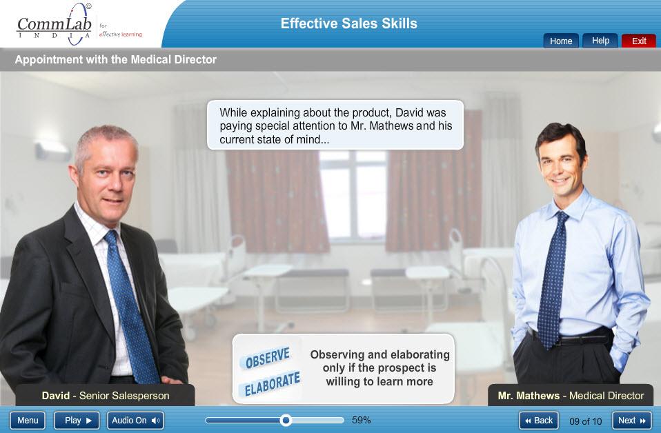 effective sales skills