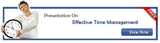 View Presentation On Effective Time Management