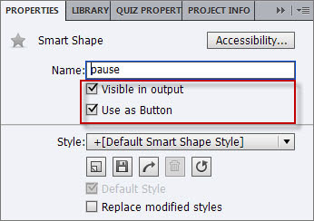 Setting Button Properties