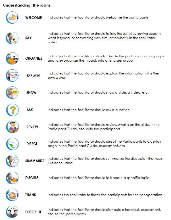tips to create facilitator guide for an ilt program elearning blogs rh blog commlabindia com Instructor Guide Template Samples Teacher Guide Template