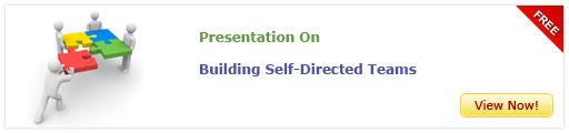View Presentation on Building Self-Directed Teams