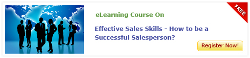 eLearning Course on Effective Sales Skills-How to be a Successful Salesperson