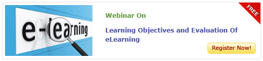 View Webinar on Learning Objectives and Evaluation Of eLearning