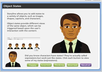 Screenshot Showing the Feedback with Real Pictures