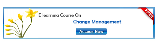 Access Free elearning course on Change Management