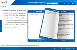 Screenshot Showing Flipbook