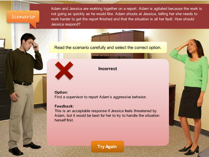 Formative Assessments in Elearning- Ariculate storyline 1