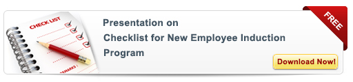 View Presentation on: Checklist For New Employee Induction Training Program