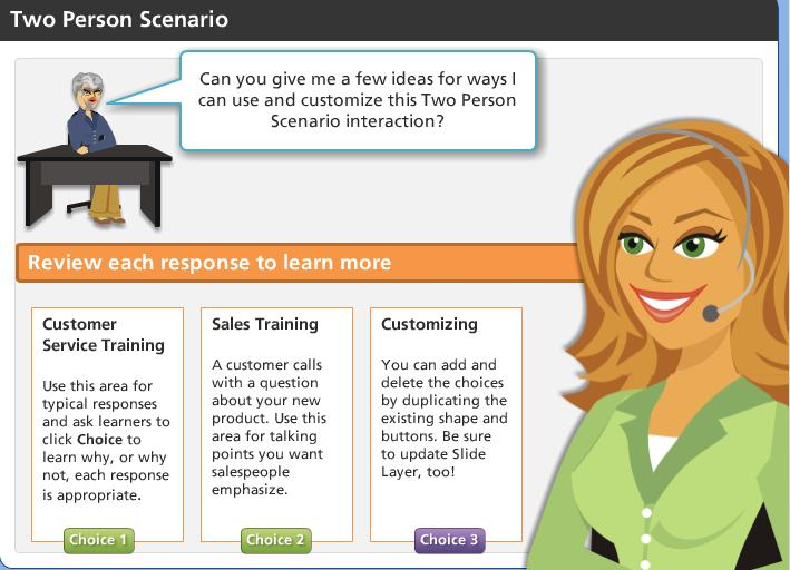 Scenarios Using Articulate Storyline