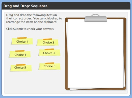 Sequence Drag and Drop