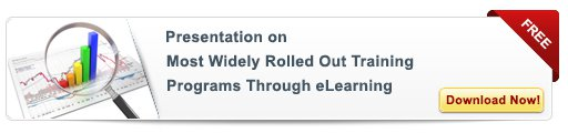 Most Widely Rolled Out Programs Through eLearning – Free Presentation