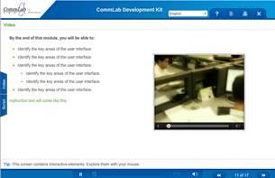 Screenshot Showing Video