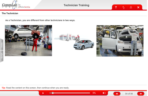 Automotive Technician Training eLearning