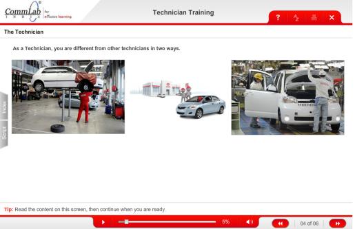 Automotive Technician Training eLearning