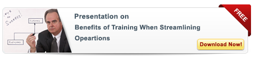 View Presentation on Benefits of Training When  Streamlining Operations-Free Presentation