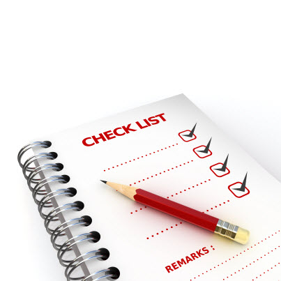 Checklist for Documentation of eLearning Requirements
