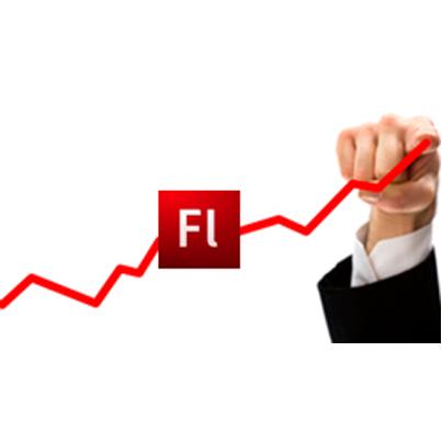 Translating RTL Courses Using Flash