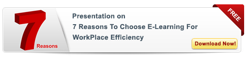 View eLearning Presentation on 7 Reasons to Choose E-learning for Workplace Efficiency