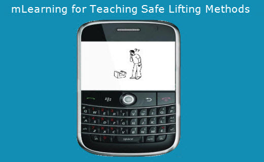 Teaching safe lifting methods