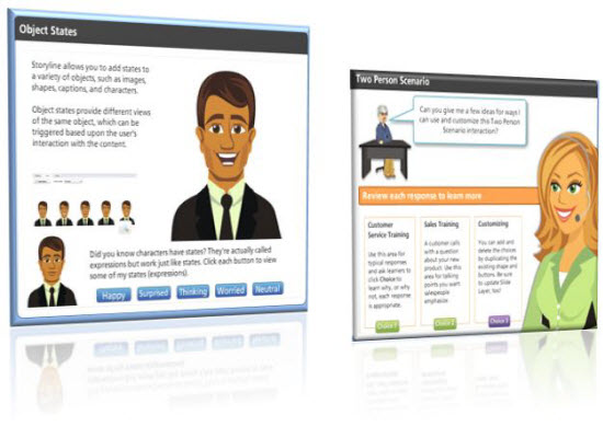 Articulate Storyline for storytelling