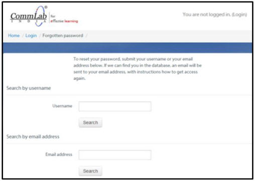 Automatic password recovery