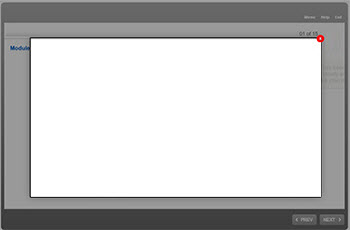 Lightbox slide display issue in HTML output