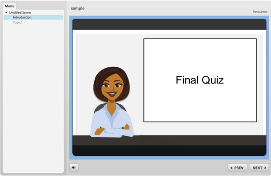 Articulate Storyline assessments